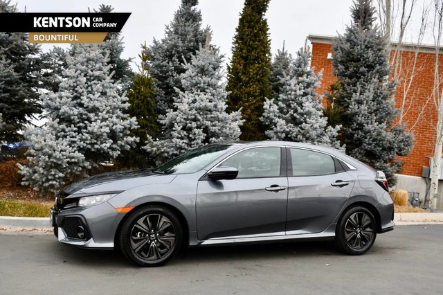 Pre-Owned 2018 Honda Civic Hatchback EX Hatchback In